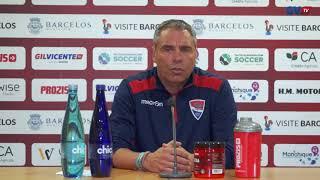 Jorge Casquilha: antevisao jogo com o Arouca