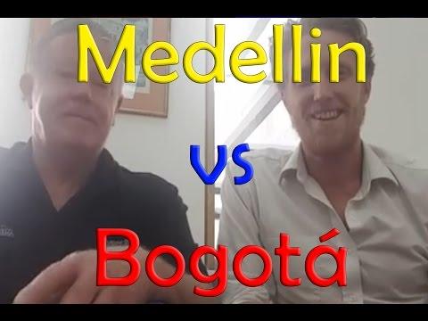 Bogotá vs Medellin