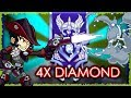 1v1 RANKED DIANA - Getting DIAMOND For The 4th Season In A Row! • Brawlhalla Gameplay