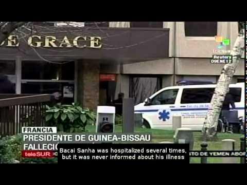 Guinea Bissau president dies in Paris