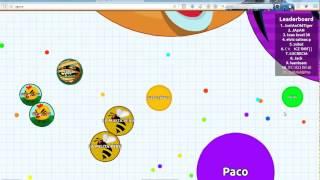 Agar.io Jugando con lag - Modo NOOB - GAMEPLAY ESPAÑOL