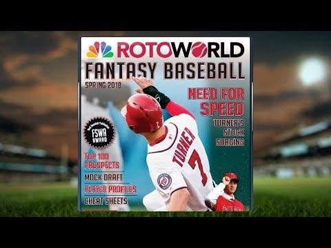 2018 MLB Fantasy Baseball Mock Draft I Rotoworld I NBC Sports