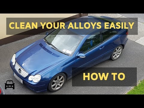 HOW TO CLEAN YOUR ALLOY WHEELS EASILY