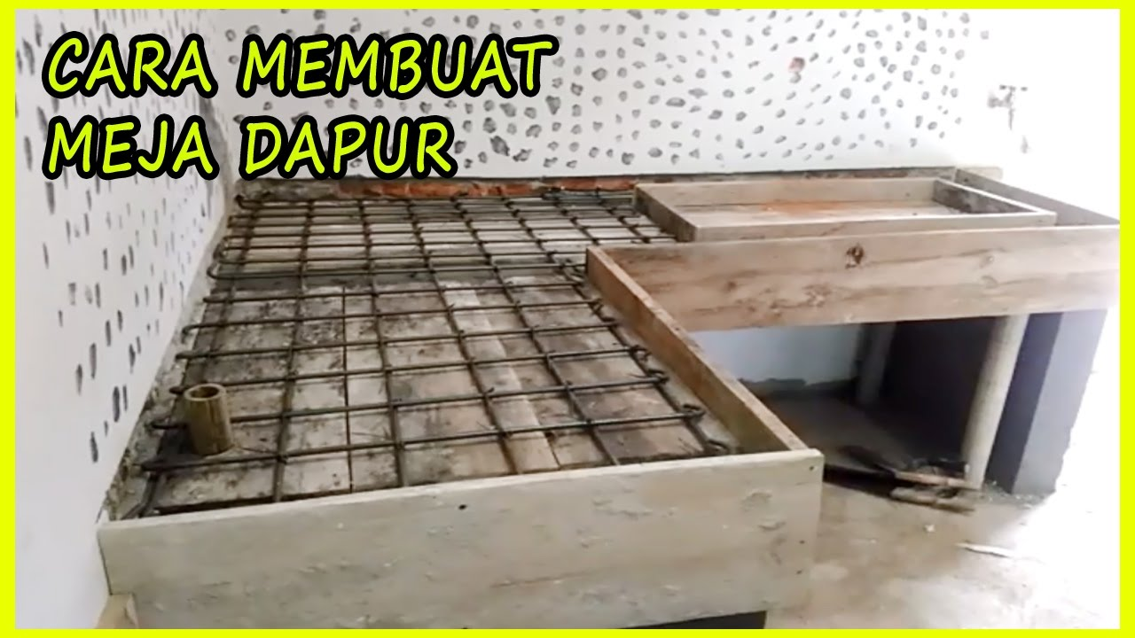 The Easy Way To Make A Kitchen Table Step By Rumah Kita