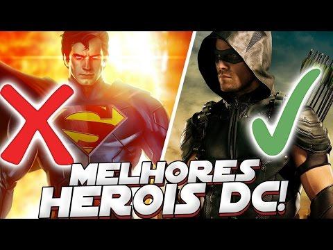 5 MELHORES HEROIS DA DC COMICS QUE NÃO TEM SUPER PODERES
