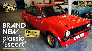 The BRAND NEW MST mk2 - is this the ultimate Ford Escort? Exclusive first drive