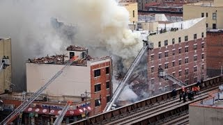 Dramatic scenes from NYC explosion