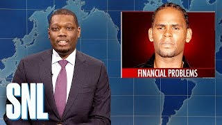 Weekend Update:R. Kelly's Financial Problems - SNL