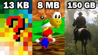 Estos Videojuegos tan solo Pesan 13 Kilobytes