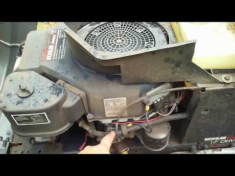 Craftsman riding mower fuel problem (solved)