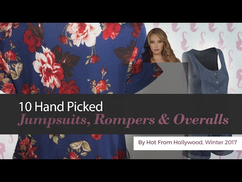 10 Hand Picked Jumpsuits, Rompers & Overalls By Hot From Hollywood, Winter 2017
