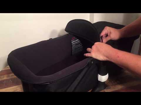 How To Mount The Bassinet / Carrycot To The Frame Of A Bugaboo Fox