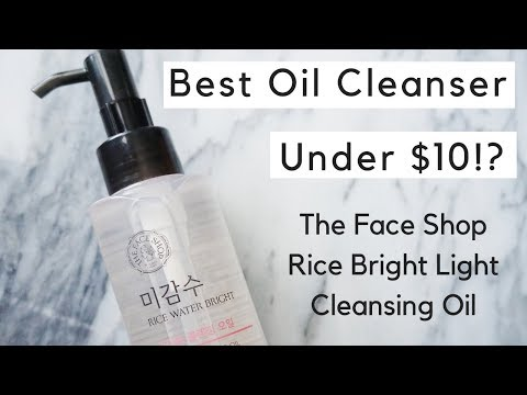 under-$10!?-|-the-face-shop-rice-water-bright-cleansing-light-oil
