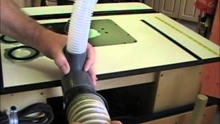 Router Table Dust Collection Keen-products Part 2
