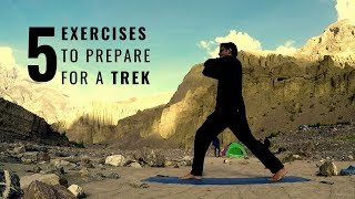 Trekking Exercises for STRENGTH in HINDI - Shot in SPITI VALLEY