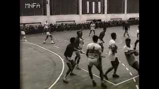 Magyarország-Spanyolország kézilabda válogatott mérkőzés 1965 Tata