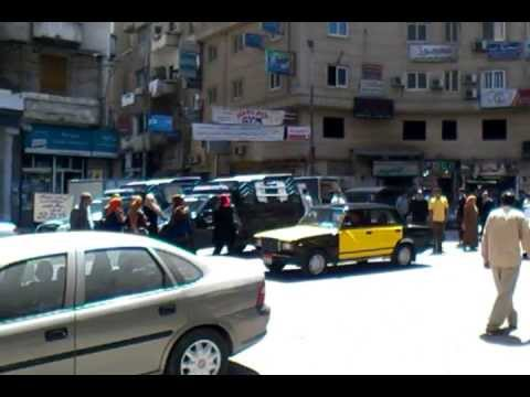 The Egyptian police ambush in Cilobatrh area, Alexandria cit