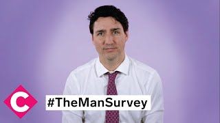 Justin Trudeau on masculinity, #metoo, and more | The Man Survey