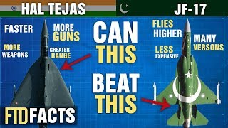 The Differences Between HAL TEJAS and JF-17 Thunder