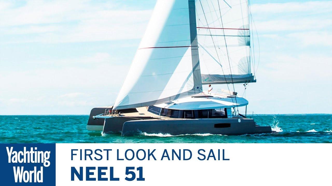 Neel 51 Trimaran | First Sail | Yachting World