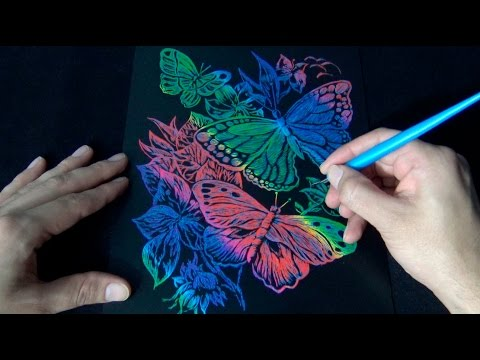 ASMR Scratch Art 1 Hour of Scratching Sounds | No Talking |