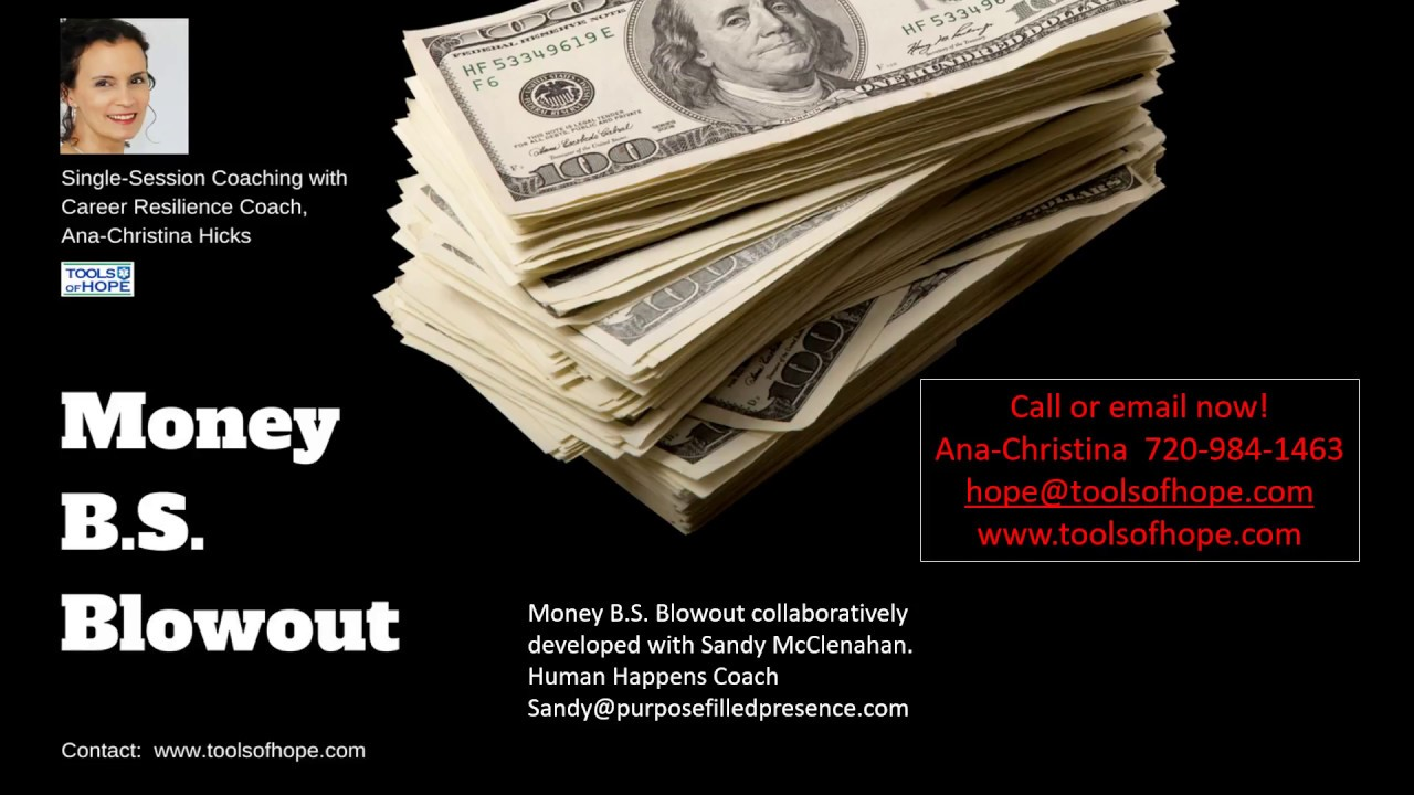 BLOWOUT YOUR CRAPPY MONEY BELIEFS with Ana-Christina