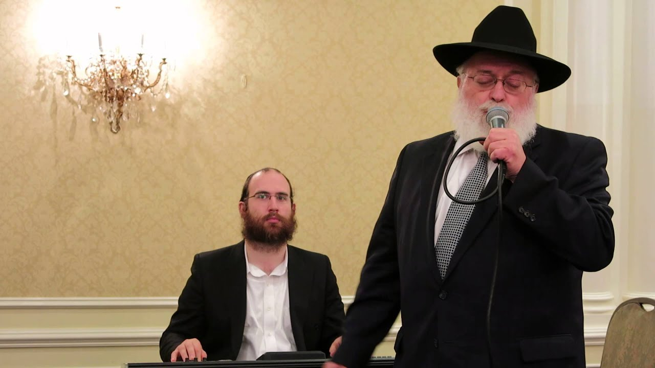 Singer Reb Abish Brodt singing