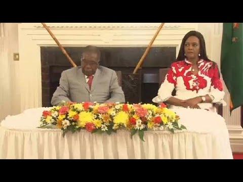 Zimbabwe war vets say Grace Mugabe behind new cabinet