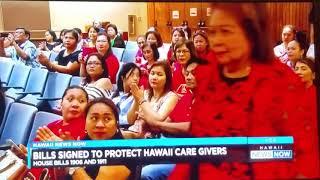 Rep. Mizuno on CBS & NBC News on HB1911 Unlicensed Care Homes