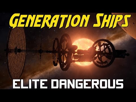 Elite Dangerous Generation Ship - All Locations & Audio Logs