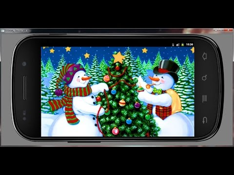 Slideshow Winter Holidays Wallpaper Android App