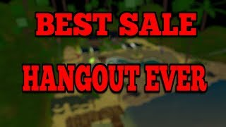 The Best Sale Hangout On Roblox!