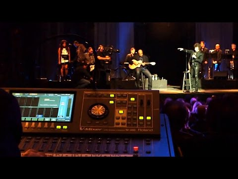 Gino Vannelli Live at the Saban Theatre with Roland Systems Group