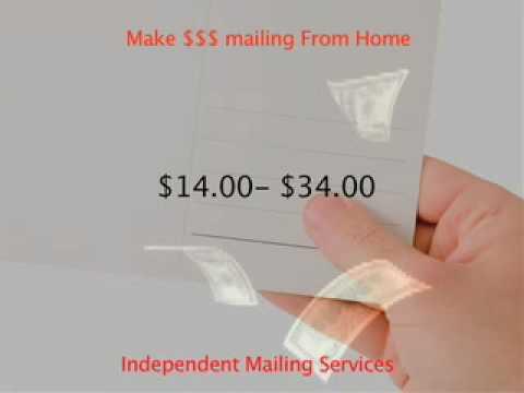 legitimate work at home mailing job