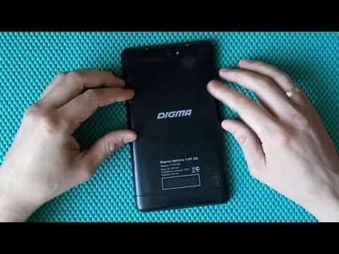 Digma Optima 7.07 3G (TT7007MG) замена тачскрина