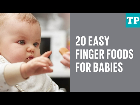 20 easy finger foods for babies