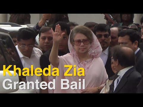 Bangladesh ex-PM Khaleda Zia Gets Bail in Corruption Case