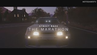 Forza Horizon 4 - The Marathon Gameplay - Street Scene