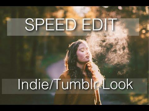 Lightroom Speed Edit: Indie/Tumblr Look