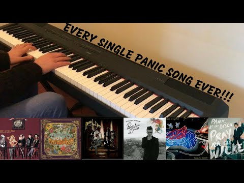 The Ultimate Panic! At The Disco Piano Medley (71 Songs From 6 Albums)