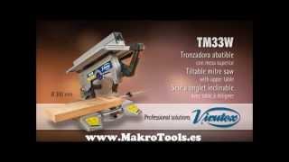 Ingletadora Virutex TM33W