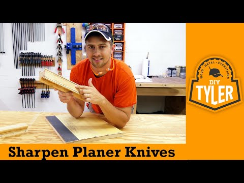 Planer/Jointer Knife Sharpening Jig | How To