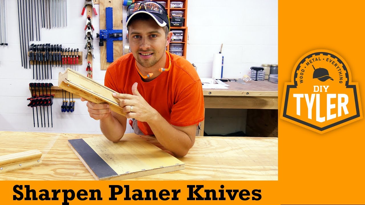 Planer/Jointer Knife Sharpening Jig | How To - YouTube