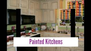Cabinet Ideas On Painted Kitchen