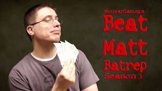 Space Marines vs Khorne Daemonkin Warhammer 40K Battle Report - Beat Matt Batrep Ep 157