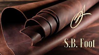 S.B. Foot - Fleet Sienna Waxed 5-6oz