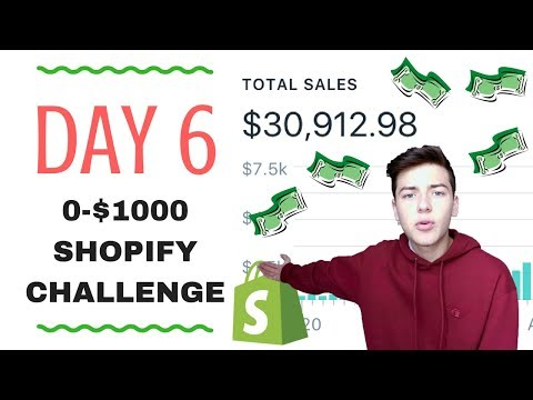 🔥 DAY 6 | SHOPIFY $0-$1000 CHALLENGE | FACEBOOK ADS STEP BY STEP 🔥 2017