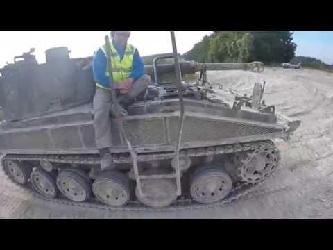 Tank Driving with Juniper Leasure
