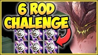 NUKE THE ENEMY TEAM WITH 6 ROD MALPHITE CHALLENGE! FULL AP MALPHITE CHALLENGE! - League of Legends