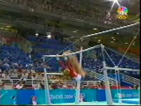 Courtney Kupets 2004 Olympics Qualifications Uneven Bars (USA)